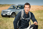 British TV host and adventurer Bear Grylls has been announced as Land Rover's global brand ambassador. Photo / Supplied