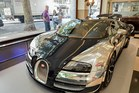 The Bugatti Veyron Grand Sport Vitesse is the world's most expensive car. Photos/SWNS.com