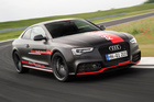The Audi RS5 TDI test car uses a 48 volt power system. Photo / Supplied