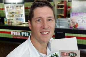 Chris Henderson helps make school lunch easier to organise. Photo / Doug Sherring
