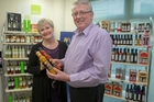 Peter and Clare McCracken create 99 per cent of Wild Appetite products at their Albany site. Photo / Peter Meecham