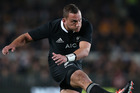 Aaron Cruden was brilliant in last night's Bledisloe Cup. Photo / Getty Images