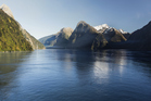 The Pacific and the Australian tectonic plates come together in the depths of spectacular Milford Sound. Photo / Thinkstock