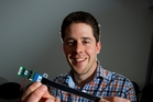Benjamin O'Brien, CEO of StretchSense, makes applications for gaming, sports and rehabilitation. Photo / Jason Oxenham
