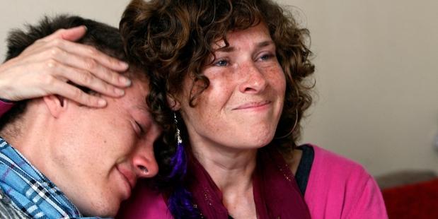 Sita Newman with her half-brother Jivan. Photo / John Stone