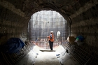 McConnell Dowell built the 3km tunnel replacing Hobson Bay sewer. Photo / Paul Estcourt