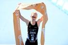 WORLD CLASS: Tauranga triathlete Anneke Jenkins won the elite women's Aquathlon world championship title in Edmonton.PHOTO/DELLY CARR@ITU