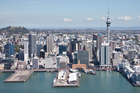 Aerial photographs Auckland City waterfront Photo / Richard Robinson