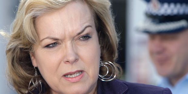 Justice Minister Judith Collins says neither she nor anyone in her office approached Winston Peters. Photo / Peter Meecham