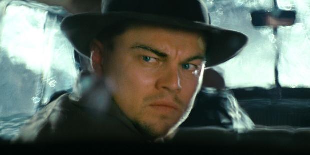 Leonardo Di Caprio in a scene from Shutter Island.
