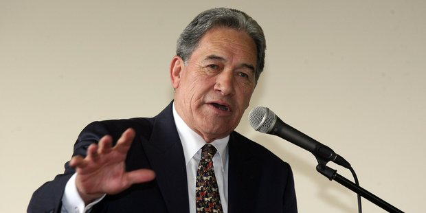 Loading Winston Peters believes that the Prime Minister is using the email as an excuse to remove Judith Collins. Photo / NZ Herald