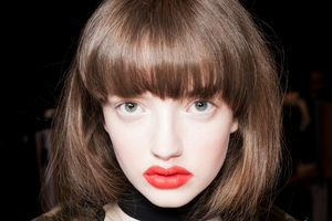 Red lips at Kate Sylvester by M.A.C. Picture / Supplied