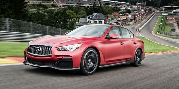 The Nissan GTR powered Infiniti Eau Rouge concept. Photos / Supplied