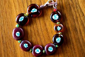 Glass bracelet. Picture / Babiche Martens