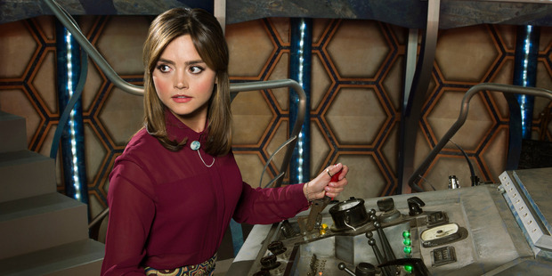 Jenna Coleman as Clara in 'Doctor Who'.