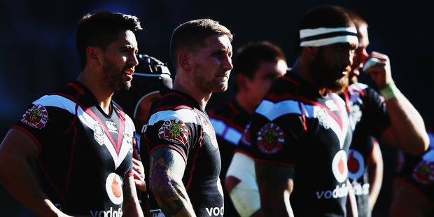 Warriors match between the New Zealand Warriors and the Sydney Roosters. Photo / Getty Images