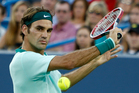 Roger Federer is many people's pick for title No 6 at Flushing Meadows. Photo / AP