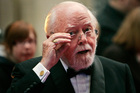 2008 file photo of British actor and director Richard Attenborough arriving at the Galaxy British Book Awards in London. Photo / AP