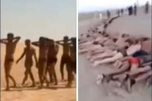 Stripped and marched to their deaths