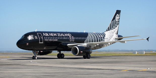 An Air New Zealand A320. Photo / Natalie Slade