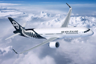 An Airbus A321neo in Air New Zealand livery. The airline will buy at least three A321neos and 13 Airbus A320neos in a $1.6 billion deal with Airbus announced in June.