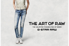An ad for the Jeanswest G-Star Raw denim. Photo / Supplied