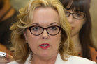 MP Judith Collins was the minister responsible for the Serious Fraud Office, so it is highly inappropriate if she did indeed share any views on Feeley with a blogger. Photo / Mark Mitchell