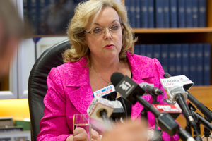 Justice Minister Judith Collins. Photo / NZ Herald