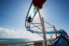 A three-storey slide entertains the older kids aboard the Disney Magic cruise liner. Photo / Supplied