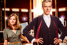Jenna Coleman and Peter Capaldi star in the new season of Doctor Who.