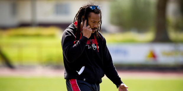 Counties Manukau rugby coach Tana Umaga. Photo / Dean Purcell