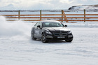 Mercedes-Benz AMG took to the snow with some of NZ's finest winter athletes. Photo / Supplied