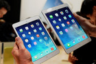The new larger iPad will measure 12.9 inches compared to the company's current 7.9 inch and 9.7 inch displays (pictured). Photo / AP