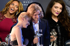 Winners from this year's MTV VMAs. Photo / AP; AFP