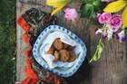 Earl gray amaranth cookies. Picture / Eleanor Ozich.