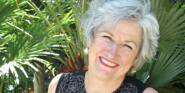Trish Bartleet, landscape designer.