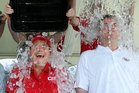The ice bucket challenge has become a global craze. Photo / AP