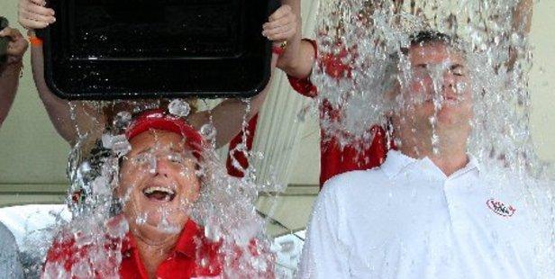 The ice bucket challenge has become a global craze. Photo / AP
