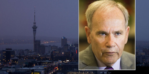 Auckland mayor Len Brown's budget was predicted to be a bleak one. Photo / NZ Herald