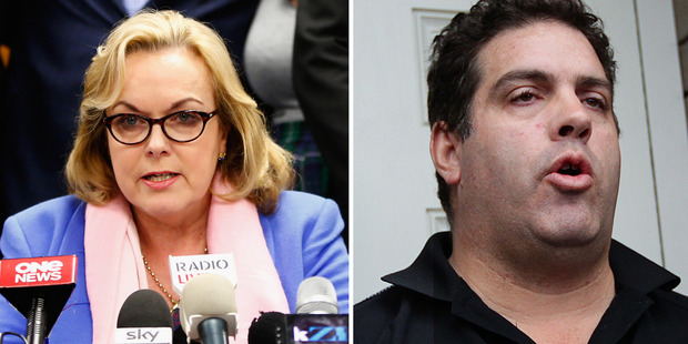 Whale Oil blogger Cameron Slater is backing his mate Judith Collins