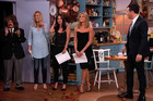 Jimmy Kimmel with some of the stars of Friends who reunited for a skit on his chat show. Photo/YouTube