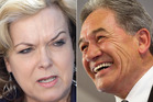 Judith Collins maintains she did not approach Winston Peters over a potential deal if he couldn't reach an agreement with Prime Minister John Key. Photo / NZ Herald