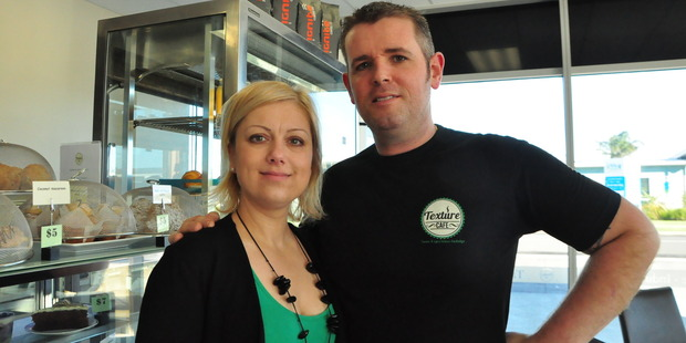 Eniko and Simon Sheehan, founders of Texture Cafe.
