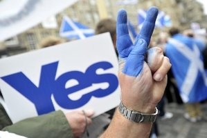 Polls suggest the Scotland independence movement will be defeated. AFP