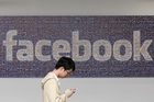Facebook stock gained 1.3 per cent on Saturday. Photo / AP
