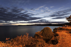 Lake Taupo at sunset. Photo / Thinkstock