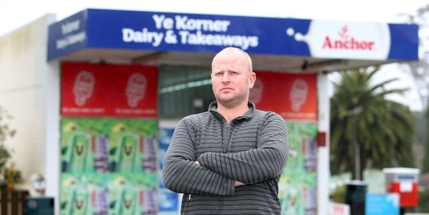 Barry Lloyd rang police three times before a Kamo dairy was robbed to alert them to a carload of suspicious people parked outside the shop. Photo / Michael Cunningham