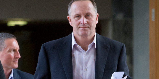 "John Key offered his ""sincere condolences"" to the family and friends of the dead and the injured. Photo / Mark Mitchell"