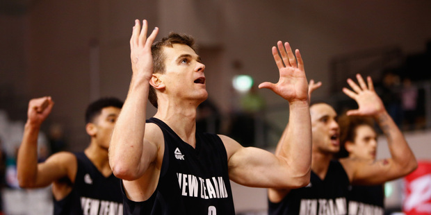 The Tall Blacks were beaten 76-73 by Turkey in their World Cup opener. Photo / Getty.