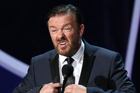 Ricky Gervais has been criticised for joking about the nude celebrity hacking case. Photo/Getty